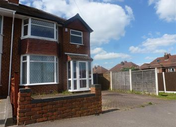 Thumbnail 3 bed semi-detached house to rent in Douglas Road, Sutton Coldfield