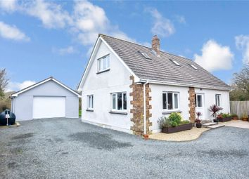 Thumbnail 3 bed detached house for sale in Hilton Road, Marhamchurch, Bude