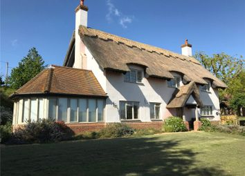 Thumbnail 4 bed detached house for sale in Ferry Road, Sudbourne, Woodbridge, Suffolk