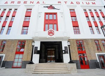 Thumbnail 1 bed flat for sale in Eaststand Apartments, Highbury Stadium Square, Islington