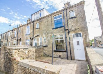 Thumbnail 1 bedroom end terrace house for sale in Wellington Street, Queensbury, Bradford
