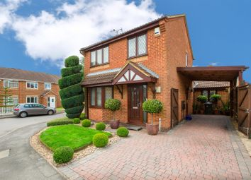 Thumbnail 3 bed detached house for sale in Swinburne Close, Kettering