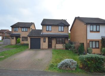 Thumbnail 4 bed detached house for sale in Hedgeway, East Hunsbury, Northampton