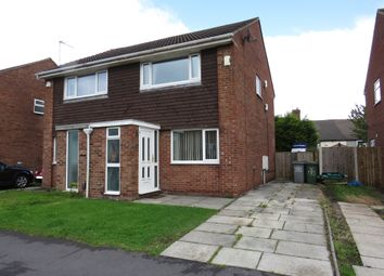Thumbnail 2 bedroom semi-detached house for sale in Brook Close, Wallasey