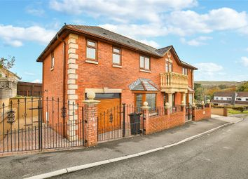Thumbnail 5 bed detached house for sale in Heol-Y-Mynydd, Cefncoedycymer, Merthyr Tydfil