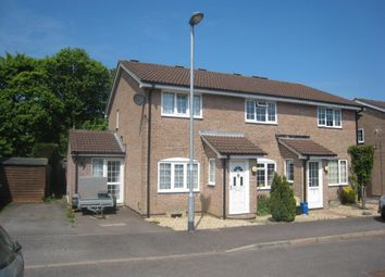 Thumbnail 2 bed semi-detached house to rent in Roman Way, Honiton, Devon