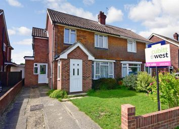 Thumbnail 4 bed semi-detached house for sale in Langdale Avenue, Chichester, West Sussex