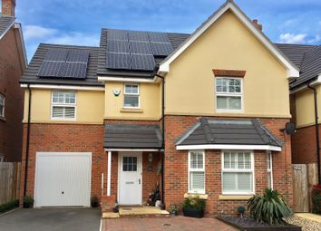 Thumbnail 4 bed detached house for sale in Perdue Close, Hook