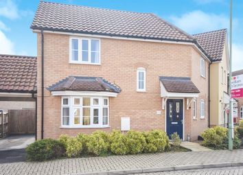 Thumbnail 3 bedroom end terrace house for sale in Snowdrop Way, Red Lodge, Bury St. Edmunds