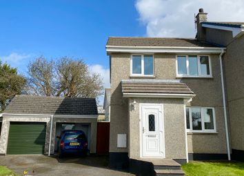 Thumbnail 3 bed end terrace house for sale in Boscarnek, St. Erth, Hayle