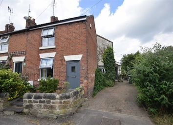 Thumbnail 2 bed end terrace house for sale in The Crescent, Horsley Woodhouse, Ilkeston
