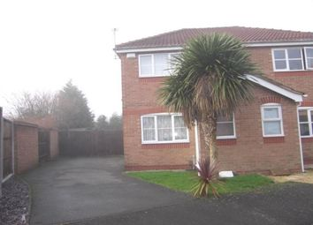 Thumbnail 2 bed semi-detached house to rent in Cranstone Crescent, Glenfield, Leicester