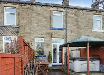 Thumbnail 1 bed terraced house for sale in Jubilee Terrace, Stoney Royd, Halifax
