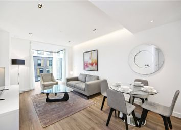 Thumbnail 1 bedroom flat to rent in Satin House, Goodmans Fields, London