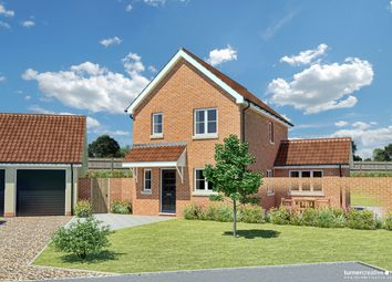 Thumbnail 3 bed detached house for sale in Tuns Road, Necton