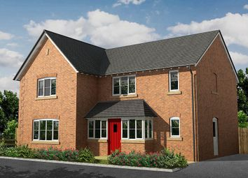 Thumbnail 4 bed detached house for sale in Wrexham Road, Whitchurch, Shropshire