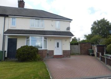 Thumbnail 3 bed town house to rent in Kentmere Avenue, Carr Mill, St Helens, Merseyside
