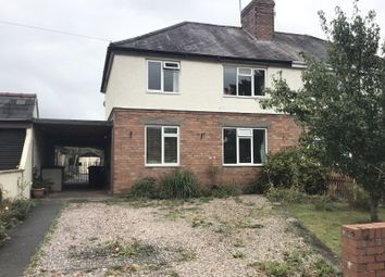 Thumbnail 3 bed semi-detached house for sale in Newport Road, Shifnal, Shropshire