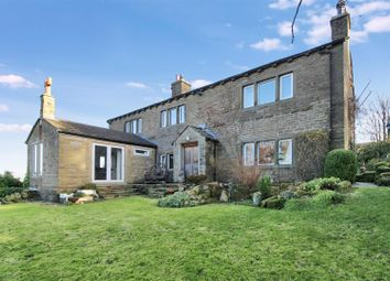 Thumbnail 4 bed detached house for sale in Whalley Lane, Denholme, Bradford