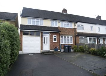 Thumbnail 5 bed semi-detached house to rent in Marston Avenue, Chessington