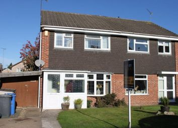 Thumbnail 3 bed semi-detached house for sale in Prescot Close, Mickleover, Derby