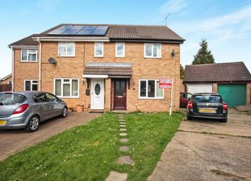 Thumbnail 3 bed semi-detached house for sale in Partridge Close, Luton, Bedfordshire, England