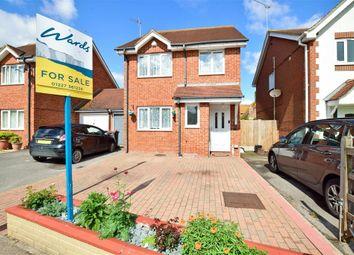 Thumbnail 3 bedroom link-detached house for sale in Windsor Gardens, Herne Bay, Kent
