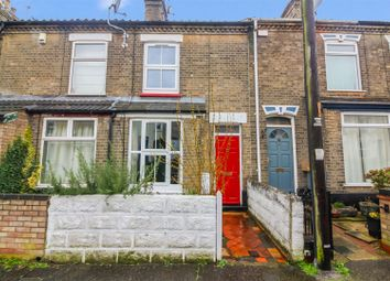 Thumbnail 3 bed terraced house for sale in Hotblack Road, Norwich