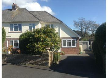 Thumbnail 4 bed semi-detached house for sale in 57 Summerhill Crescent, Liverton, Newton Abbot