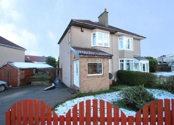 Thumbnail 2 bed semi-detached house for sale in Thornbridge Road, Garrowhill, Glasgow, Lanarkshire