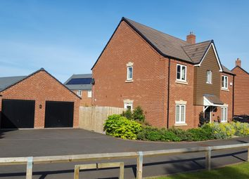 Thumbnail 4 bed detached house for sale in Macaulay Lane, Warwick, Warwickshire