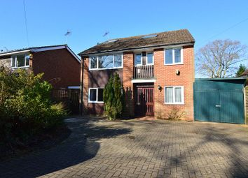 Thumbnail 5 bed detached house to rent in Finchampstead Road, Finchampstead, Wokingham