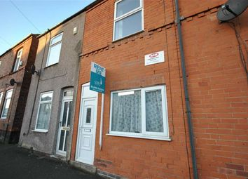 Thumbnail 2 bed terraced house to rent in Derby Road, Chesterfield, Derbyshire