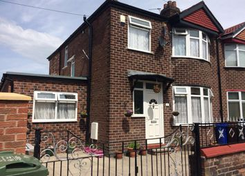 Thumbnail 5 bed semi-detached house to rent in Ollier Avenue, Longsight, Manchester