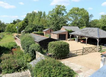 Thumbnail 5 bed equestrian property for sale in Church Lane, West Parley, Ferndown