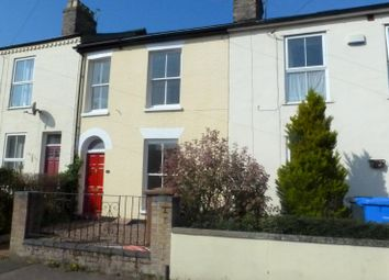 Thumbnail 3 bedroom terraced house to rent in Pembroke Road, Norwich