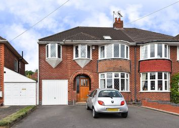 Thumbnail 5 bed semi-detached house for sale in Granshaw Close, Kings Norton, Birmingham