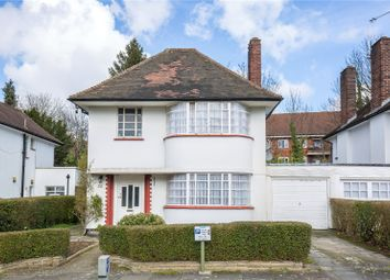 Thumbnail 3 bed detached house for sale in Howard Walk, Hampstead Garden Suburb, London