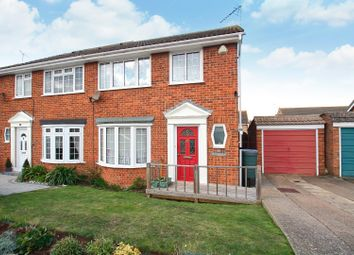 Thumbnail 3 bedroom semi-detached house for sale in Caroline Close, Seasalter, Whitstable