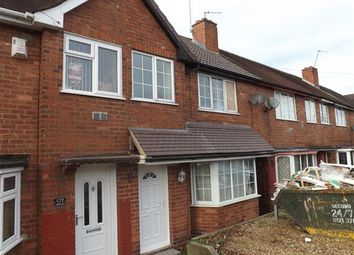 Thumbnail 3 bed terraced house to rent in Aldridge Road, Great Barr, Birmingham