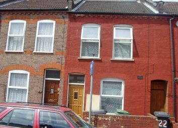 Thumbnail 2 bed terraced house to rent in Granville Road, Luton