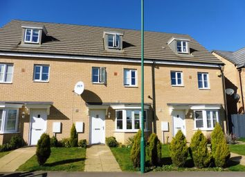 Thumbnail 4 bed town house for sale in Apollo Avenue, Farcet, Peterborough