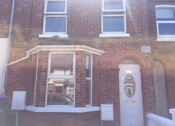 Thumbnail 3 bed terraced house to rent in Church Road, Folkestone