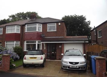 Thumbnail 3 bed semi-detached house for sale in Newlyn Drive, Sale, Greater Manchester