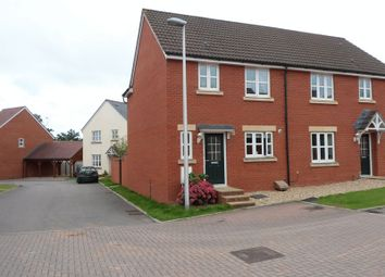 Thumbnail 3 bed semi-detached house for sale in Suter Drive, Tiverton