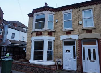 Thumbnail 4 bedroom end terrace house for sale in Clarence Road, Wallasey