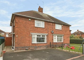 Thumbnail 3 bed semi-detached house for sale in Murby Crescent, Bulwell, Nottingham