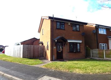 Thumbnail 3 bed detached house for sale in Meadow Way, Heath Hayes