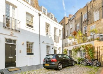 Thumbnail 3 bed town house to rent in Eccleston Square Mews, London