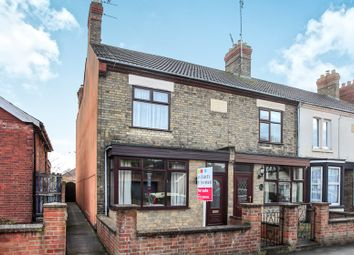 Thumbnail 3 bed end terrace house for sale in Fairfield Road, Peterborough